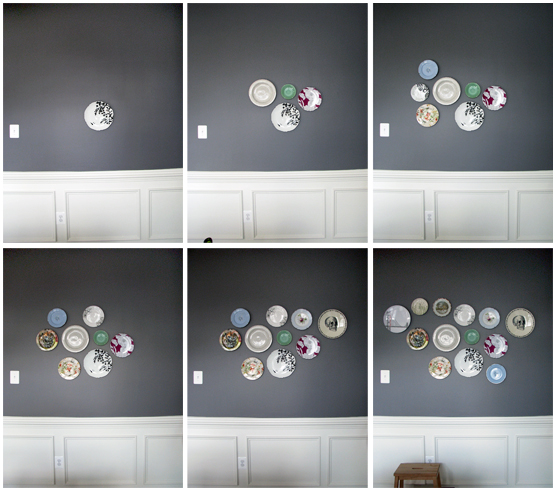 Hanging Plates On Wall adventures in hanging plates | an art school dropout's life