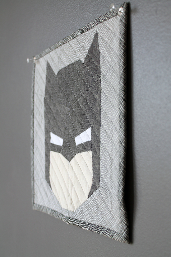 Crafty Geeks Paper Pieced Batman {an Art School Dropout's life}