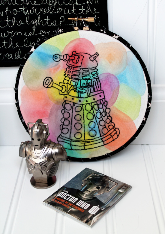 #MakeADalekMakeAFriend / Doctor Who Swap!: The Package I Received {an Art School Dropout's life}