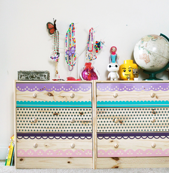 Kids Dresser Makeover by Jessee M for Silhouette America {an Art School Dropout's life}