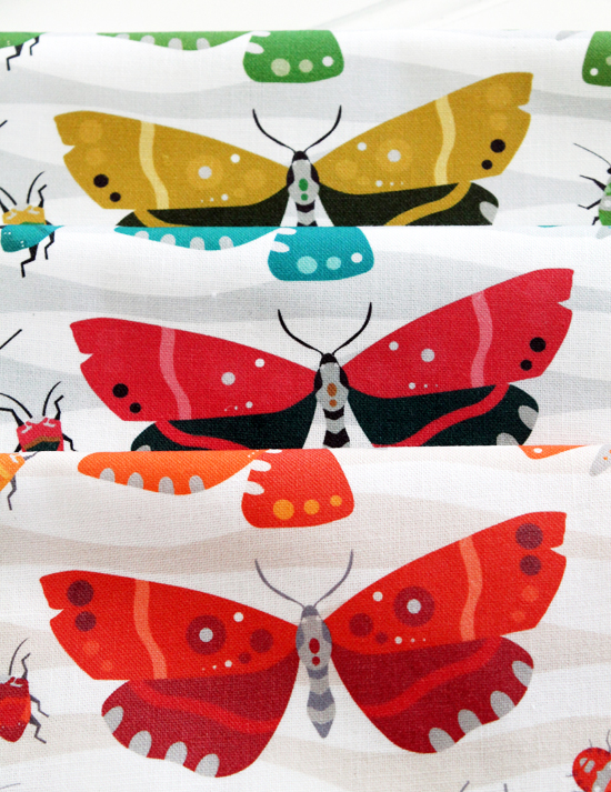 Bugs & Teacups fabric for sale on Spoonflower.com {an Art School Dropout's life} Designs by Jessee Maloney / JesseeSueM #spoonflower