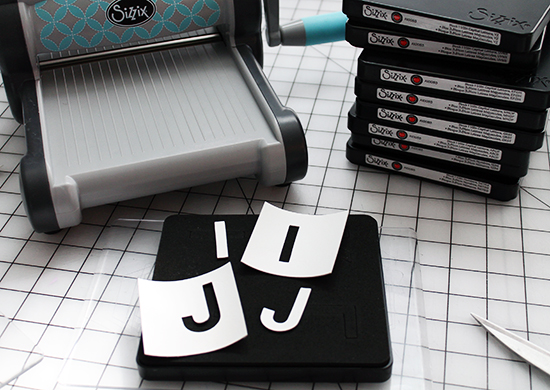 Appliqued Vinyl Letter Pillow Tutorial for Sizzix by Jessee Maloney {an Art School Dropout's life} Brand New - Seventy Times 7