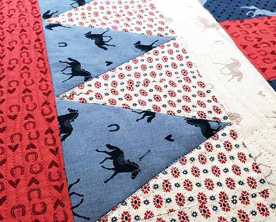 Free Equestrian Quilt Pattern by Jessee Maloney for Michael Miller Fabrics {an Art School Dropout's life}