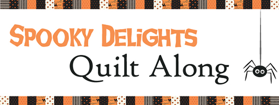 Spooky Delights Table Runner Sew Along with the Fat Quarter Shop {an Art School Dropout's life}