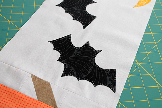 Spooky Delights Table Runner Sew Along with the Fat Quarter Shop: Part Two with Jessee Maloney {an Art School Dropout's life}