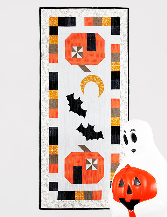 Spooky Delights Table Runner Sew Along with the Fat Quarter Shop: Part Three {an Art School Dropout's life} Jessee Maloney