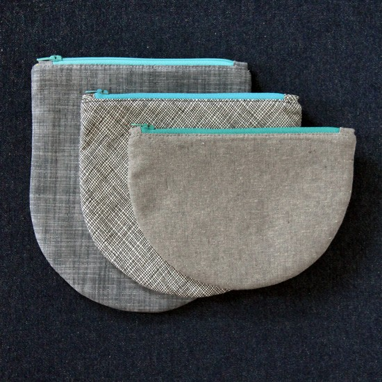 Half Oval Pouch Set: Sneak Peek With Sizzix by Jessee Maloney {an Art School Dropout's life}