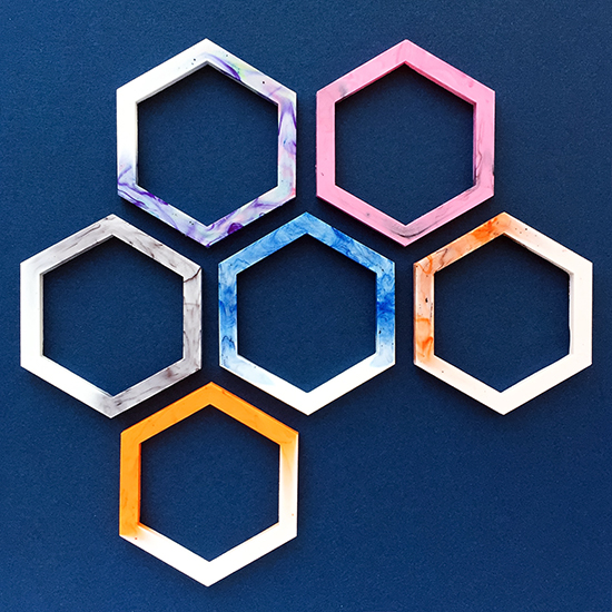 I've Decided to Make Jewelry Again... {an Art School Dropout's life} Hexagon Jewelry