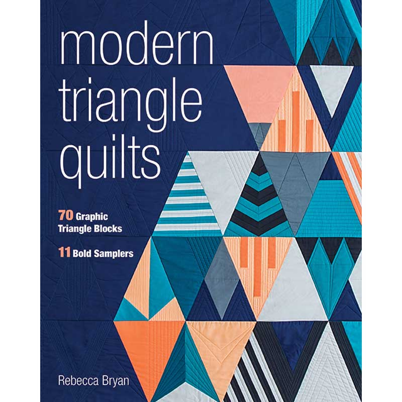 Modern Triangles Blog Tour | Rebecca Bryan {an Art School Dropout's life}