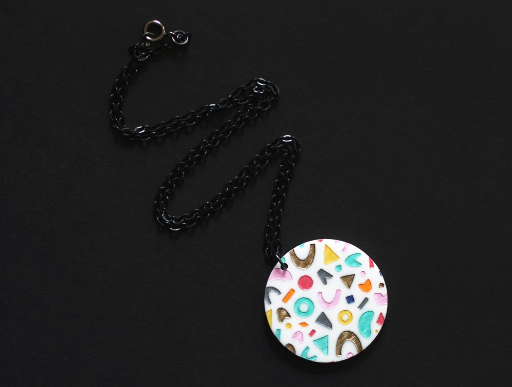 Shop Update: Hand Painted Acrylic Jewelry and More PreOrders {an Art School Dropout's life}